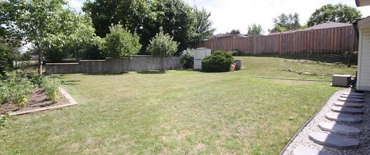 カナダの家の特徴:庭