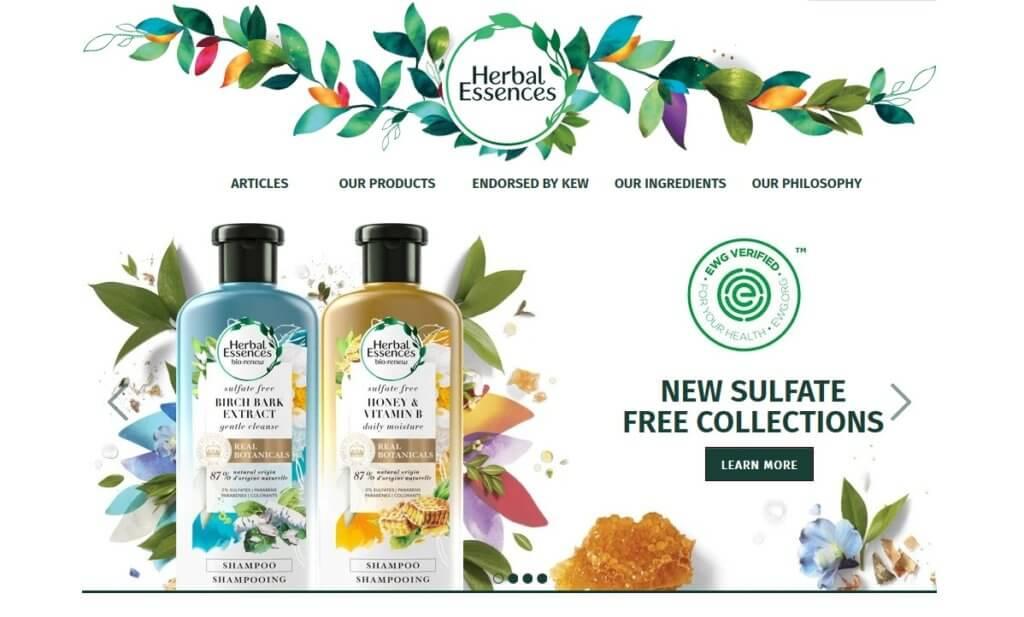 Herbal Essence(ハーバル・エッセンス)のシャンプー