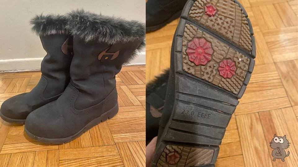 カナダの冬の服装に必須なスノーブーツ