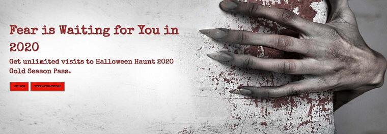 カナダワンダーランドのハロウィン・ハント(Halloween Haunt)