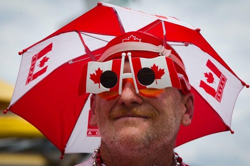 カナダデー パレード