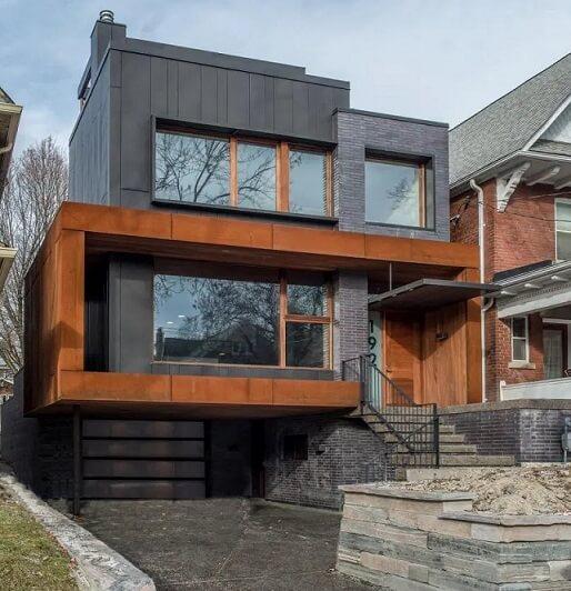 カナダの最近の家