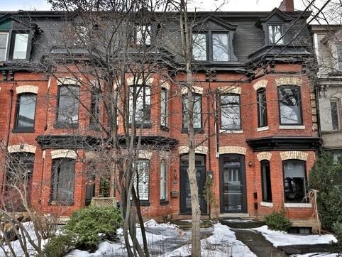 カナダの家の種類:タウンハウスダウンタウン