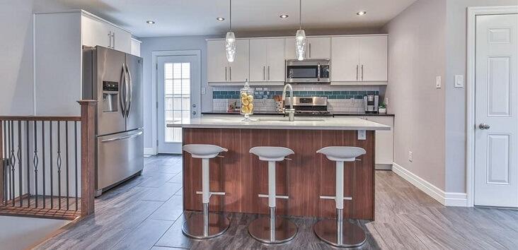 カナダの家の特徴:キッチン