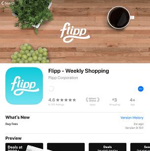 Flippアプリの使い方