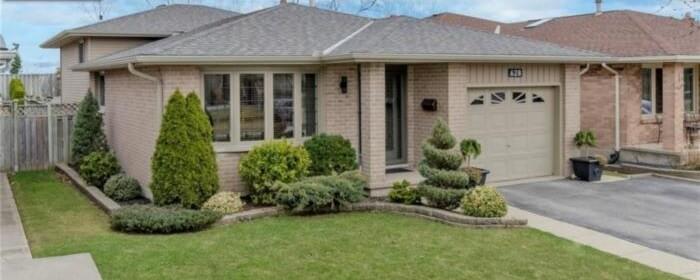 カナダの家:back split