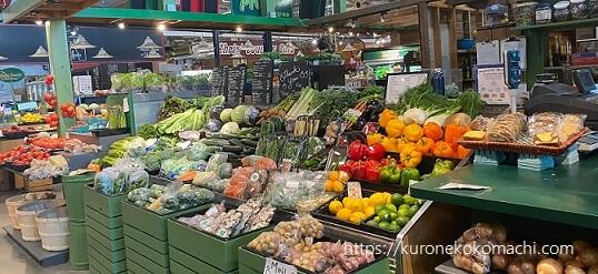 Covent Garden Market八百屋